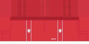 WAC 2BGs 300x150 Kits Wydad Casablanca 2019 2020