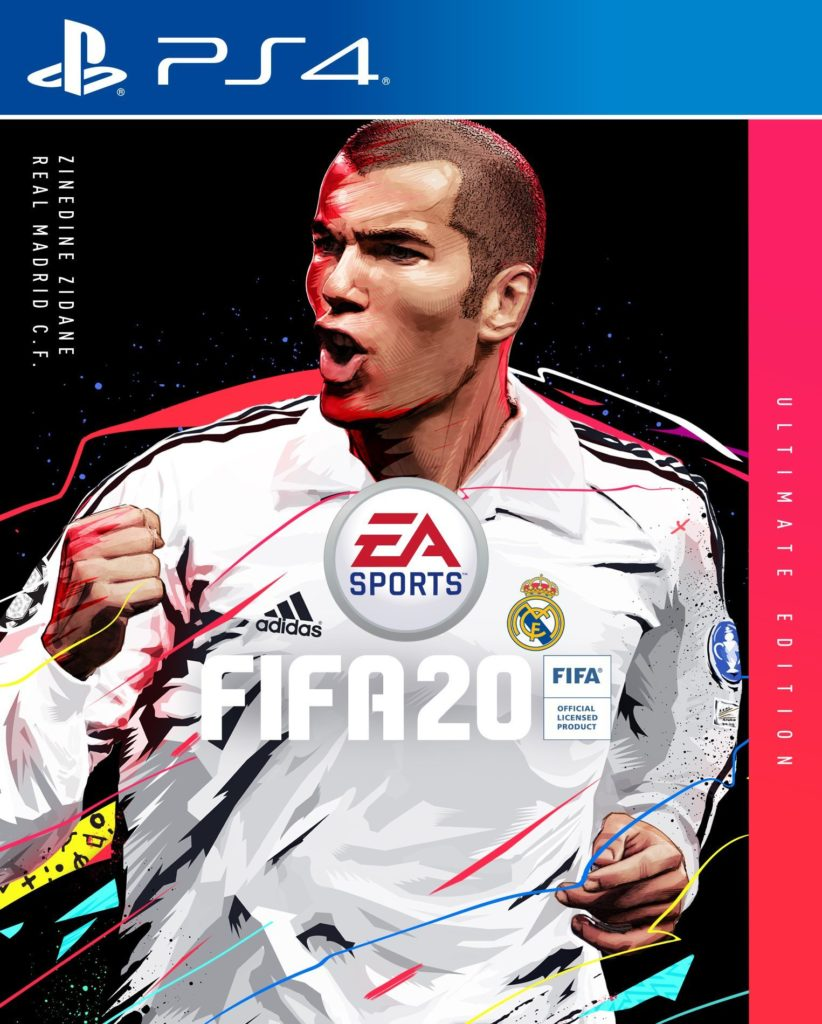 Zidane FIFA 20 822x1024 Zidane On FIFA 20 Ultimate Edition 8217 S Cover