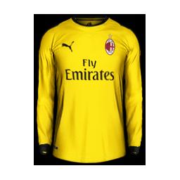 AC Milan Away GK MiniKit Kits AC Milan 2019 2020