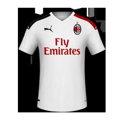 AC Milan Away MiniKit Kits AC Milan 2019 2020