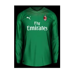 AC Milan Home GK MiniKit Kits AC Milan 2019 2020