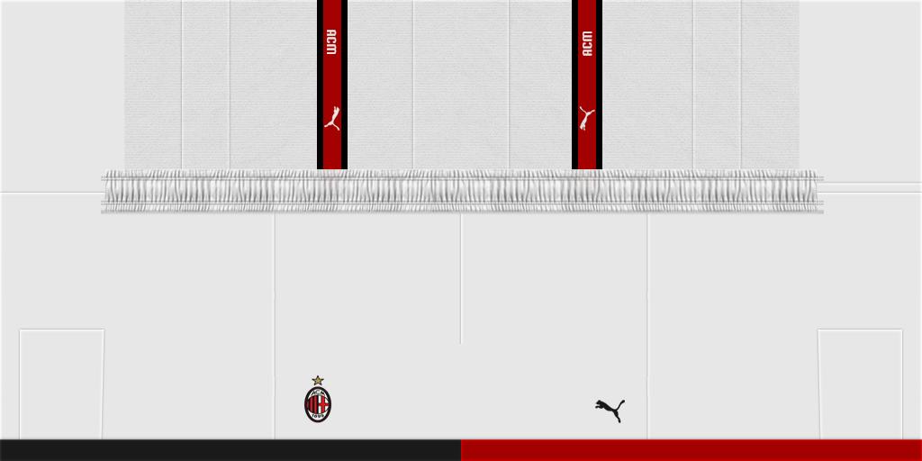 AC Milan Home Shorts 1024x512 Kits AC Milan 2019 2020
