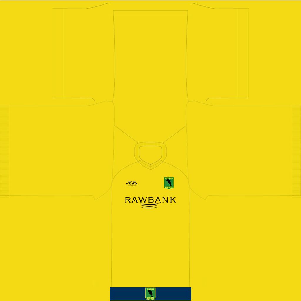 AS Vita Club Away Kit Kits AS Vita Club 2019 2020