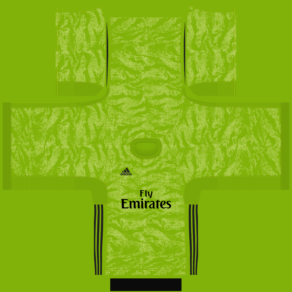Arsenal Goalkeeper Third Kit Kits Arsenal 2019 2020 RX3 Added