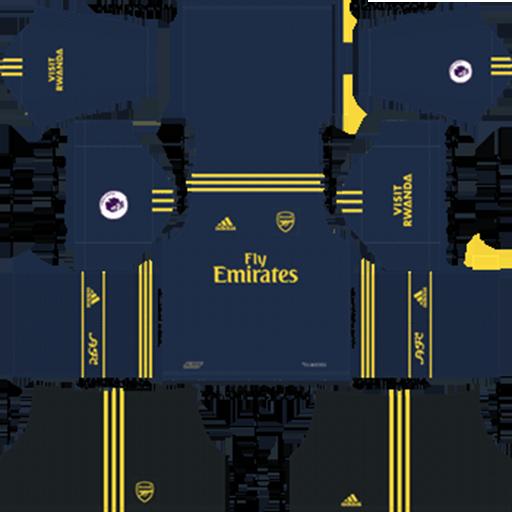 Arsenal Third Kit 2019 20 DLS 19 Kits Dream League Soccer DLS Arsenal Kits 038 Logos 2019 2020