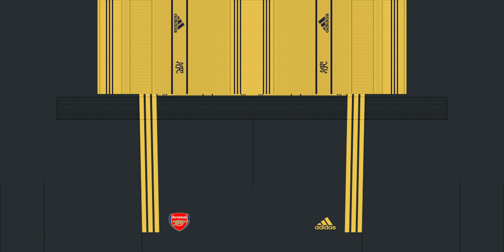 Arsenal Shorts Away 1024x512 Kits Arsenal 2019 2020 RX3 Added
