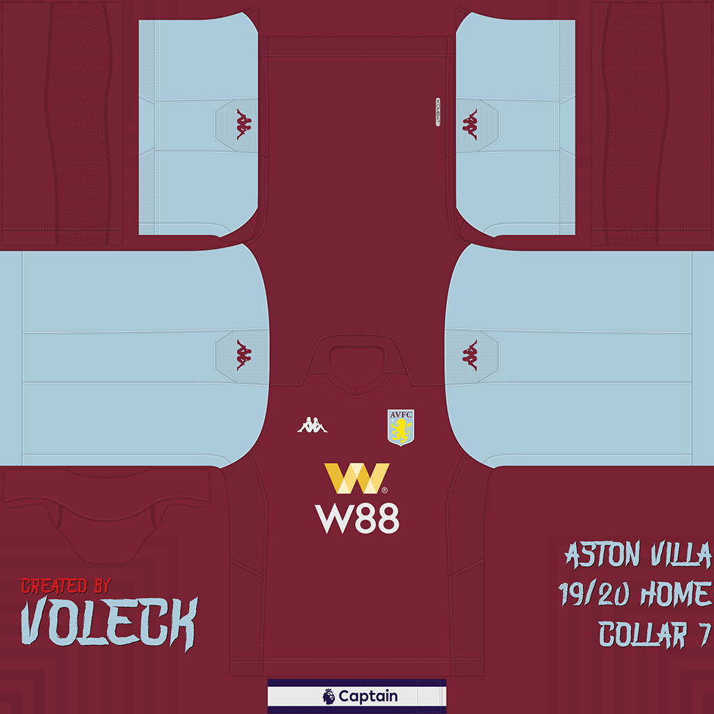 Kits | Aston Villa | 2019/2020 (Updated)