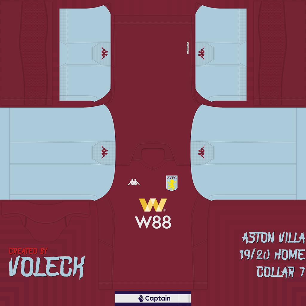 Aston Villa 1 1 Kits Aston Villa 2019 2020 Updated