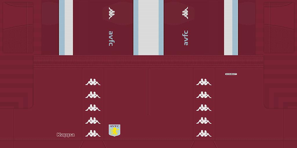 Aston Villa 1s 1024x512 Kits Aston Villa 2019 2020 Updated
