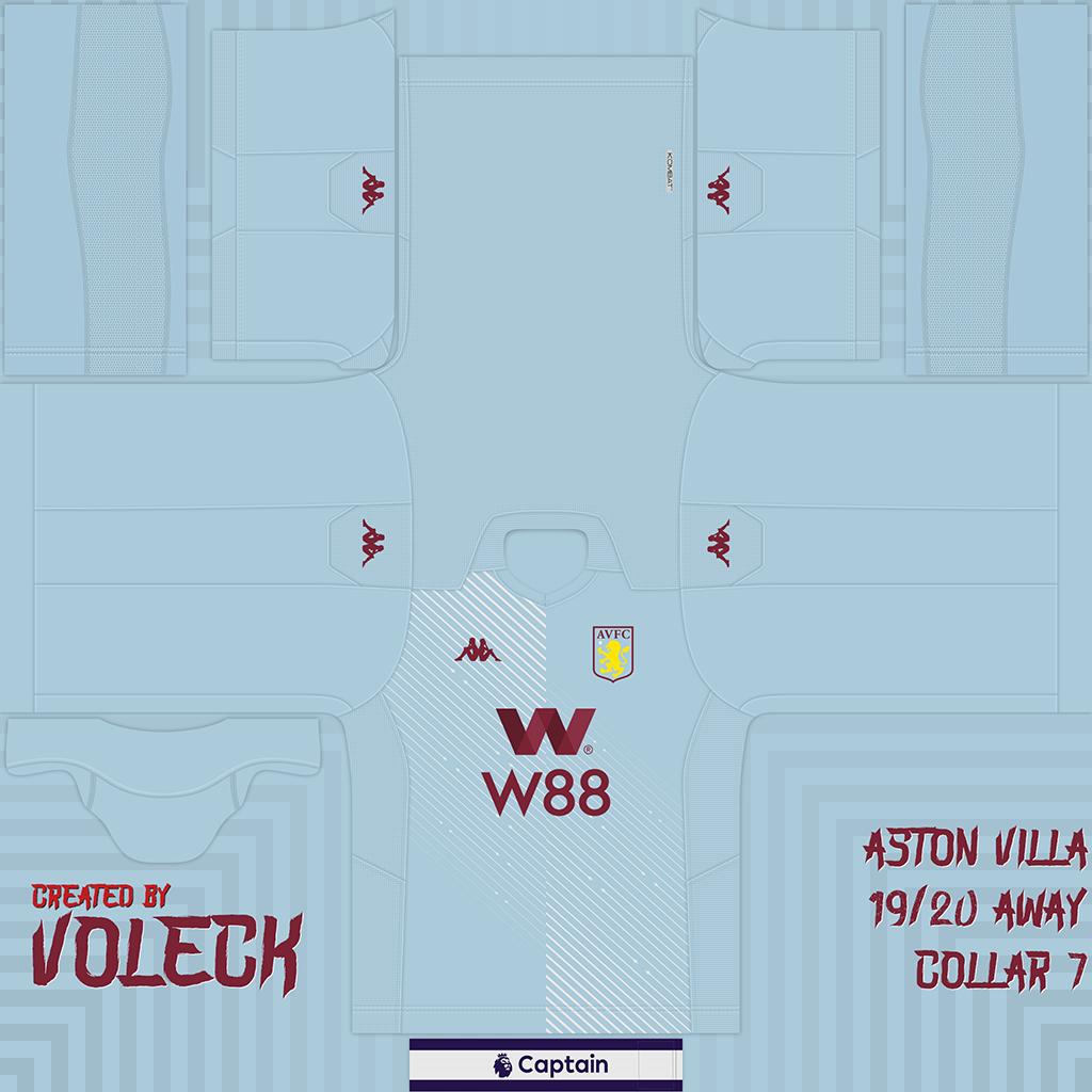 Aston Villa 2 Kits Aston Villa 2019 2020 Updated