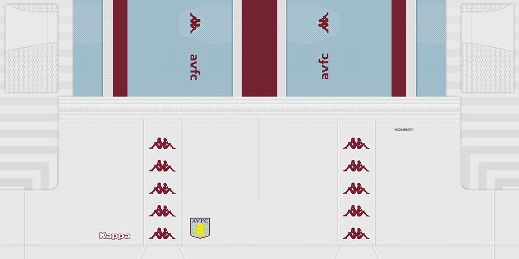 Aston Villa 2s 1024x512 Kits Aston Villa 2019 2020 Updated