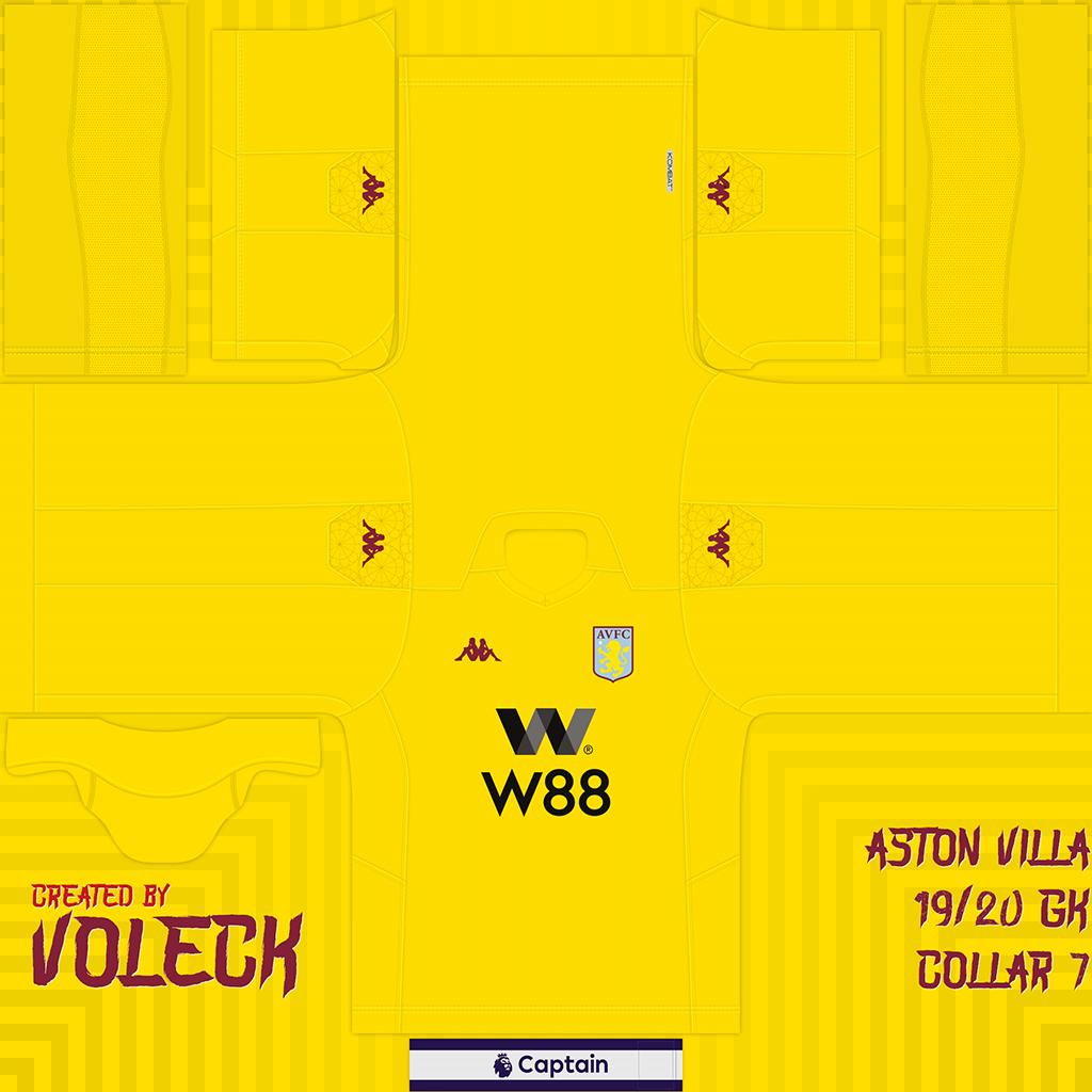Aston Villa G Kits Aston Villa 2019 2020 Updated