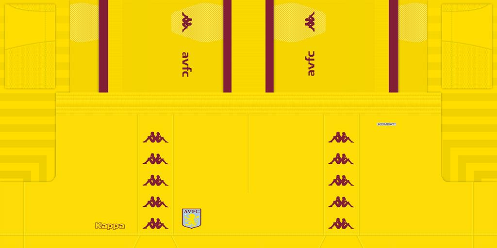 Aston Villa Gs 1024x512 Kits Aston Villa 2019 2020 Updated
