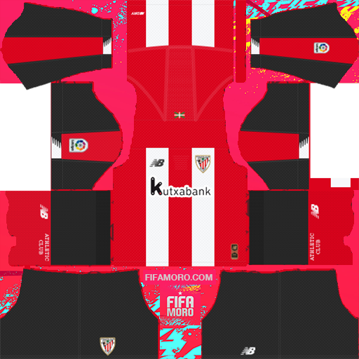 Athletic Bilbao Home Kits DLS Athletic Bilbao Kits 038 Logo 2019 2020