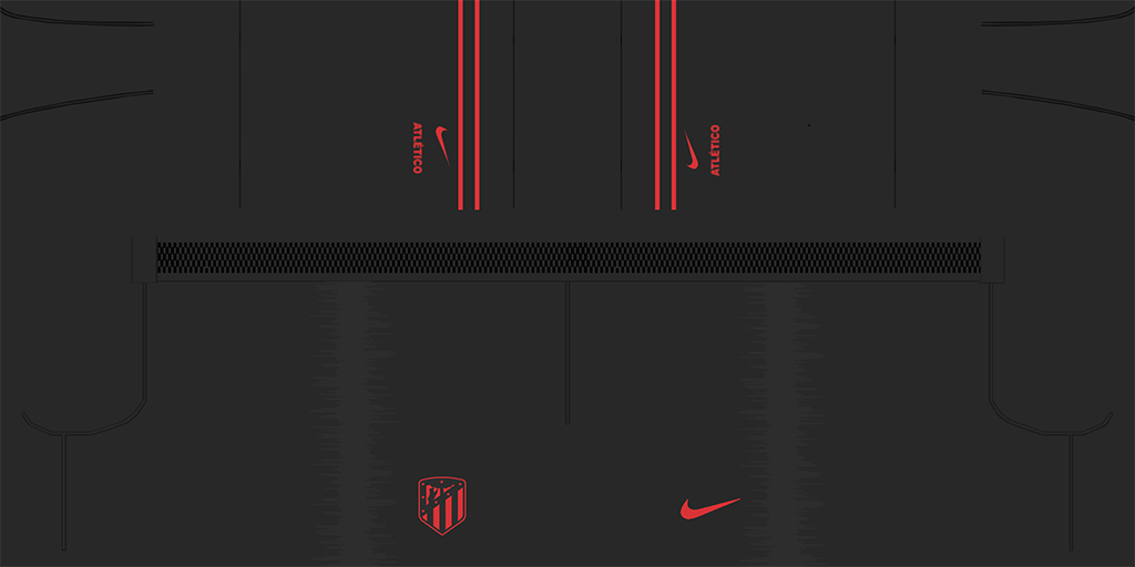 Atl Tico Madrid Away Shorts 1024x512 Kits Atl Tico Madrid 2019 2020 Updated