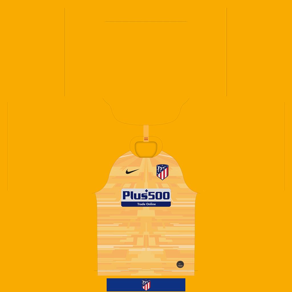 Atl Tico Madrid Goalkeeper Home Kit Kits Atl Tico Madrid 2019 2020 Updated