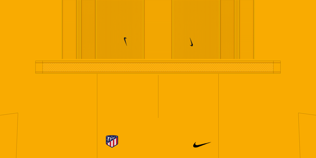 Atl Tico Madrid Goalkeeper Home Shorts 1024x512 Kits Atl Tico Madrid 2019 2020 Updated