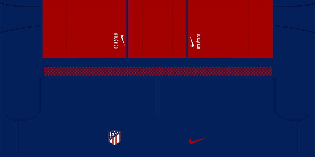 Atl Tico Madrid Home Shorts 1024x512 Kits Atl Tico Madrid 2019 2020 Updated