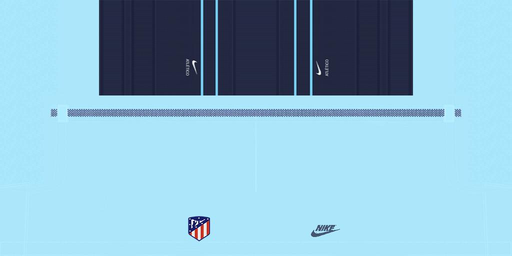 Atletico Madrid Third Short 1024x512 Kits Atl Tico Madrid 2019 2020 Updated