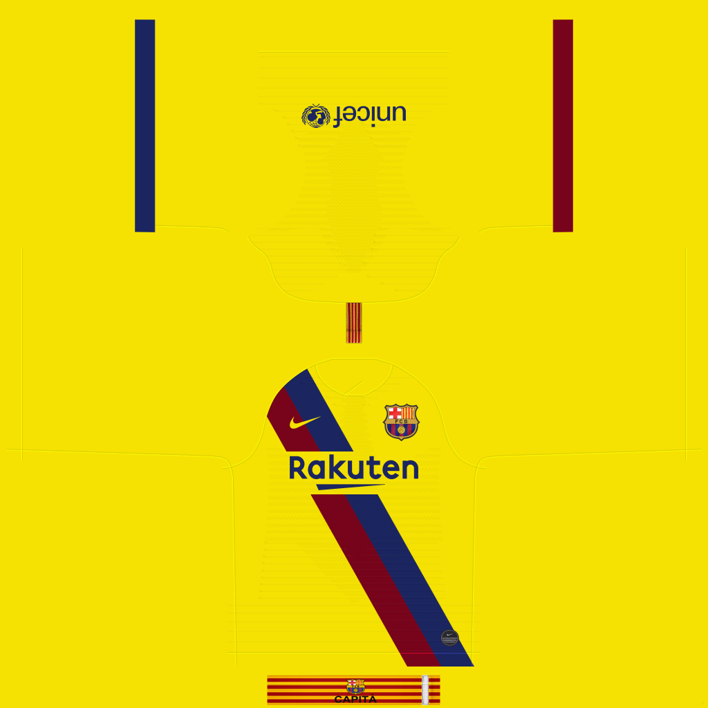 Barcelona Away Kit Kits FC Barcelona 2019 2020 RX3 Added