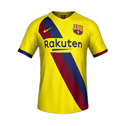 Barcelona Away MiniKit Kits FC Barcelona 2019 2020 RX3 Added