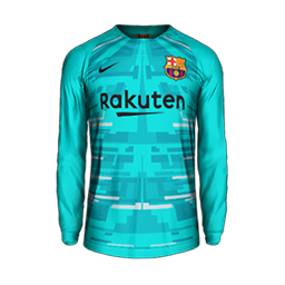 Barcelona Goalkeeper Home MiniKit Kits FC Barcelona 2019 2020 RX3 Added