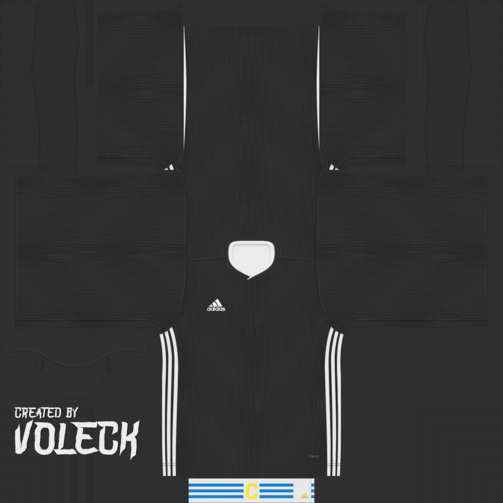 Black White Jersey 1024x1024 Kits Adidas Tiro 19