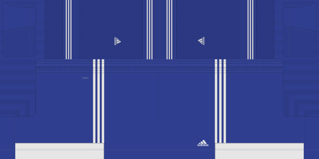 Blue White Shorts 1 1024x512 Kits Adidas Tiro 19