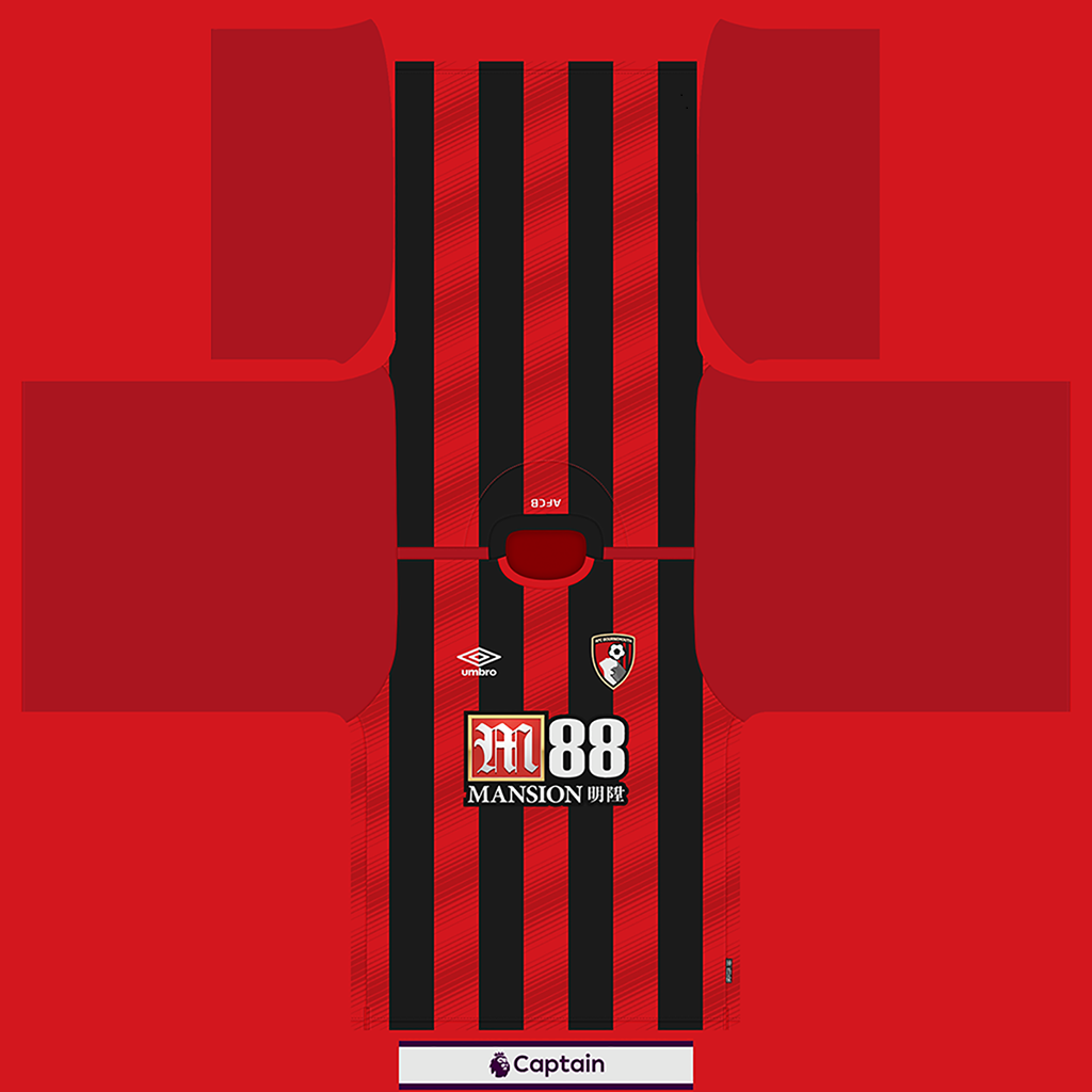 Bournemouth Shirt Home Kits 8211 Bournemouth 8211 19 20 RX3 GK Kits Added