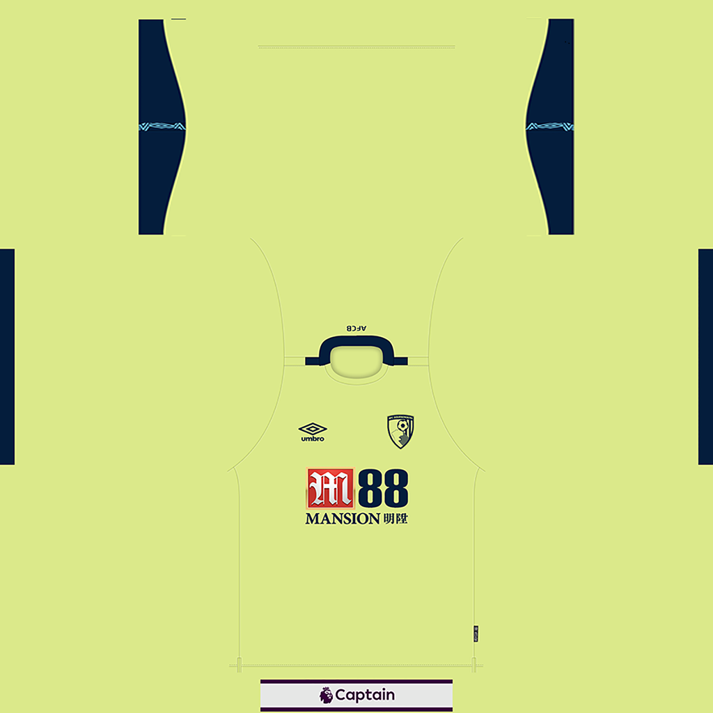 Bournemouth Shirt Third Kits 8211 Bournemouth 8211 19 20 RX3 GK Kits Added