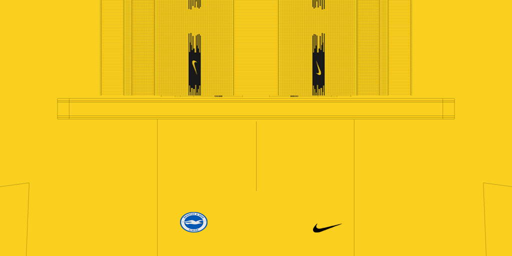 Brighton Hove Albion Shorts GK 1024x512 Kits Brighton 038 Hove Albion 2019 2020 Updated
