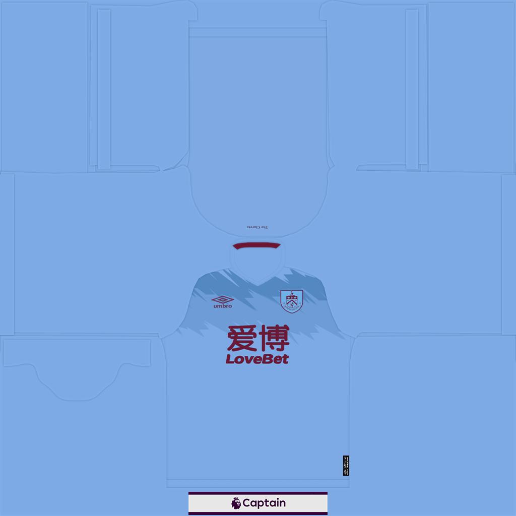 Burnley Shirt Away Kits 8211 Burnley 8211 19 20 RX3 GK Kits Added