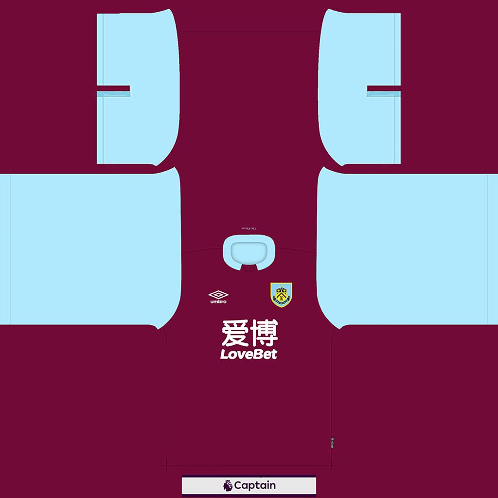 Burnley Shirt Home Kits 8211 Burnley 8211 19 20 RX3 GK Kits Added
