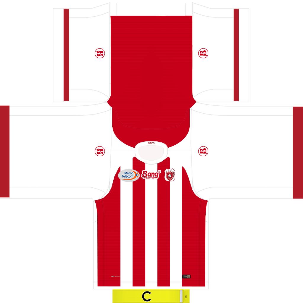 CJBG 3 Kits Chabab Ben Guerir 2019 2020