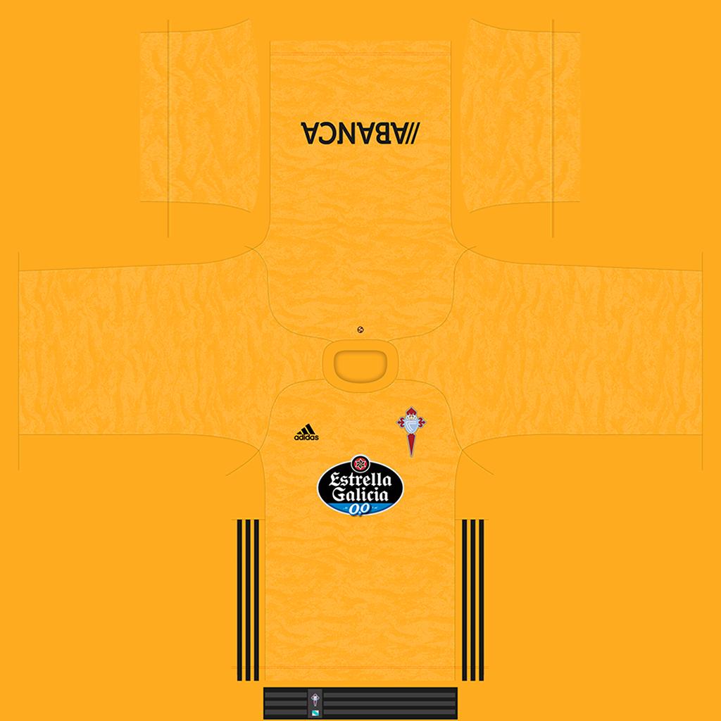 Celta De Vigo GK Kit Kits Celta De Vigo 2019 2020