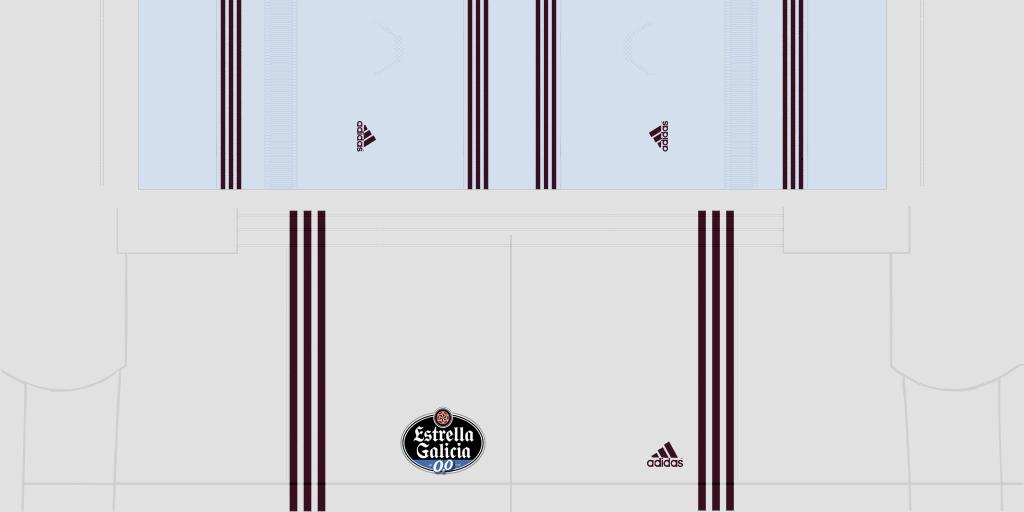 Celta De Vigo Home Shorts 1024x512 Kits Celta De Vigo 2019 2020