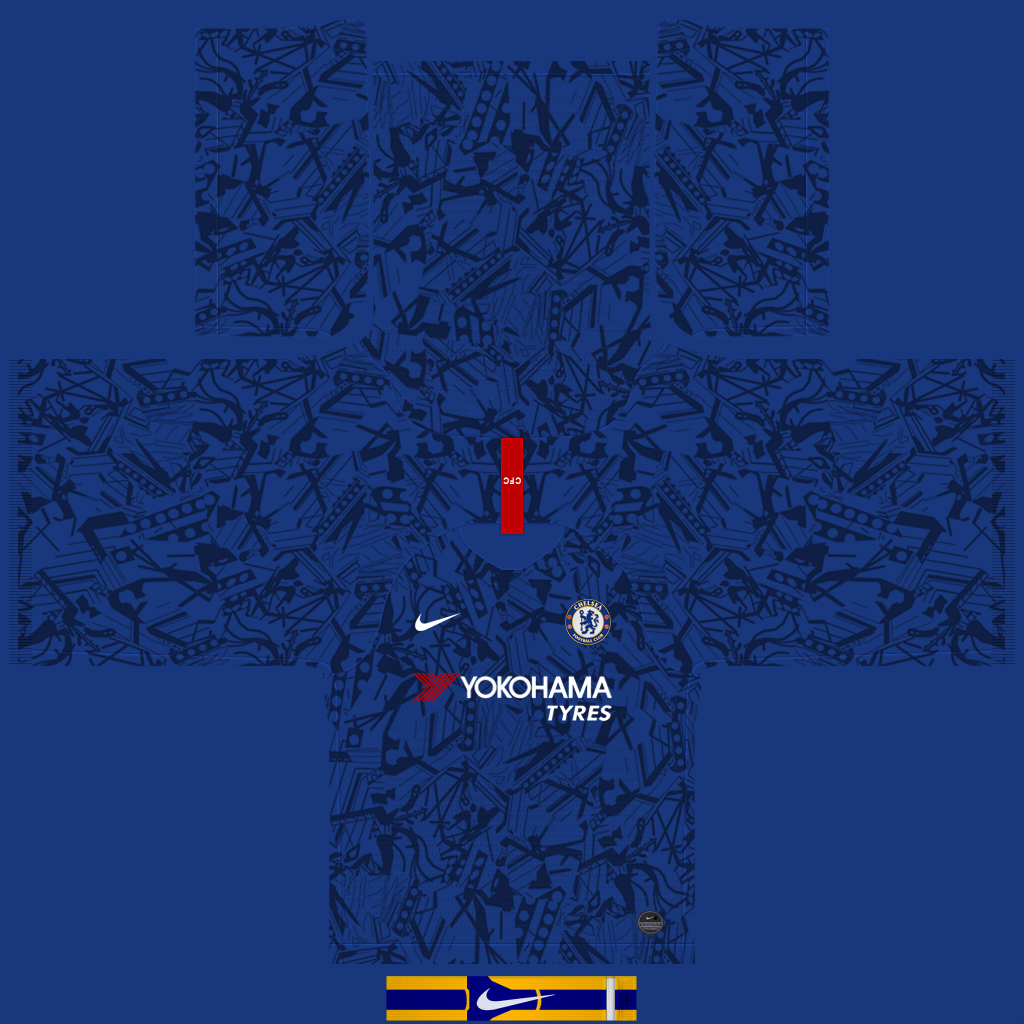 Kits – Chelsea – 19/20 (RX3 + GK Kits Added)