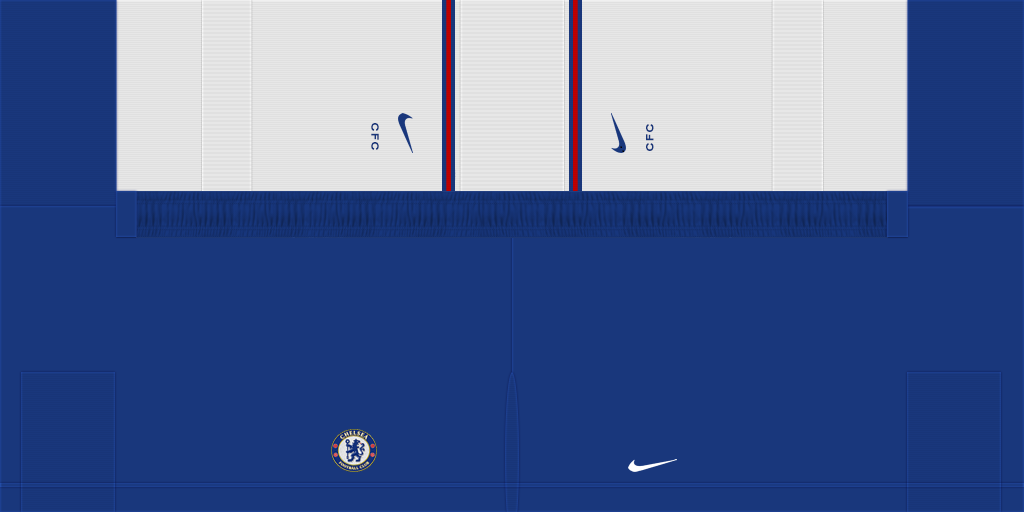 Chelsea Home Shorts 1024x512 Kits 8211 Chelsea 8211 19 20 RX3 GK Kits Added