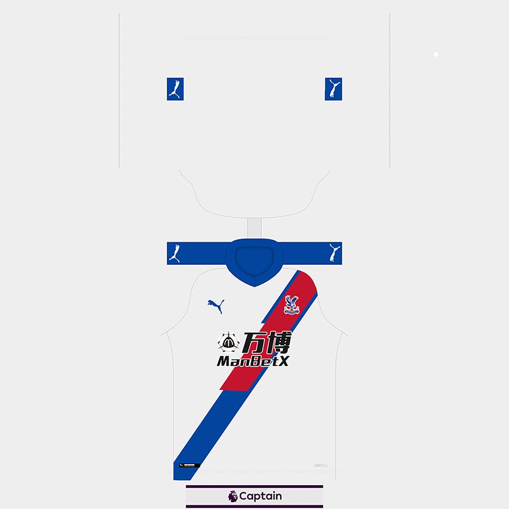 Crystal Palace Shirt Third Kits Crystal Palace 2019 2020 Updated