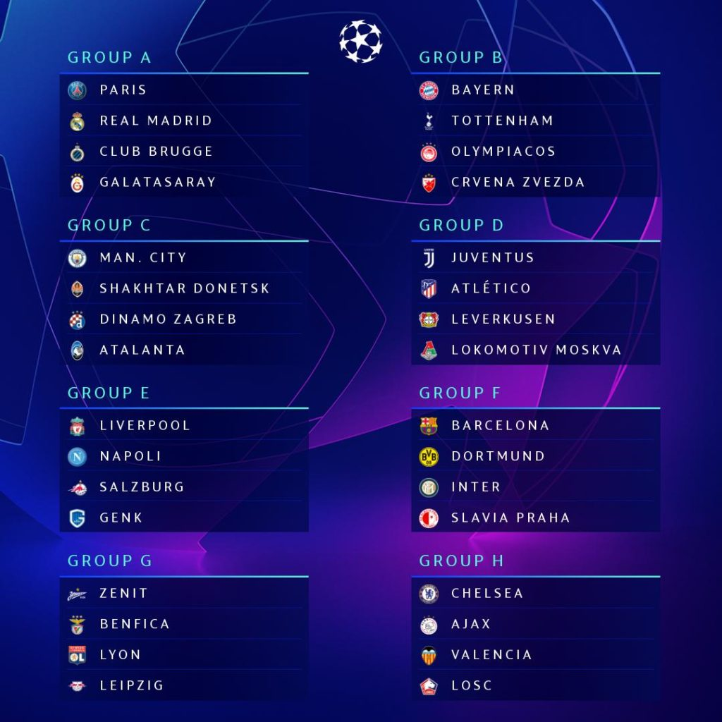 Draw 1024x1024 UEFA Champions League Draw