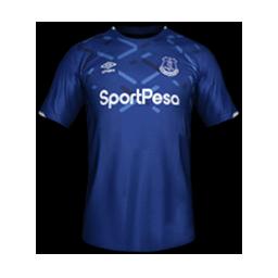 Everton Minikit HOME Kits 8211 Everton 8211 19 20 RX3 GK Kits Added
