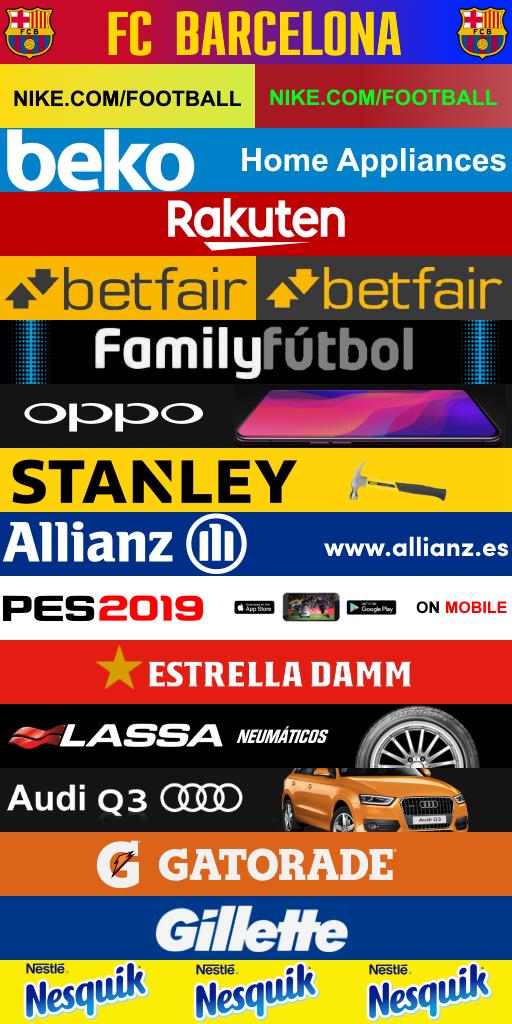 FC BARCELONA ADBOARDS THIRD 512x1024 Adboards FC Barcelona 2019 2020