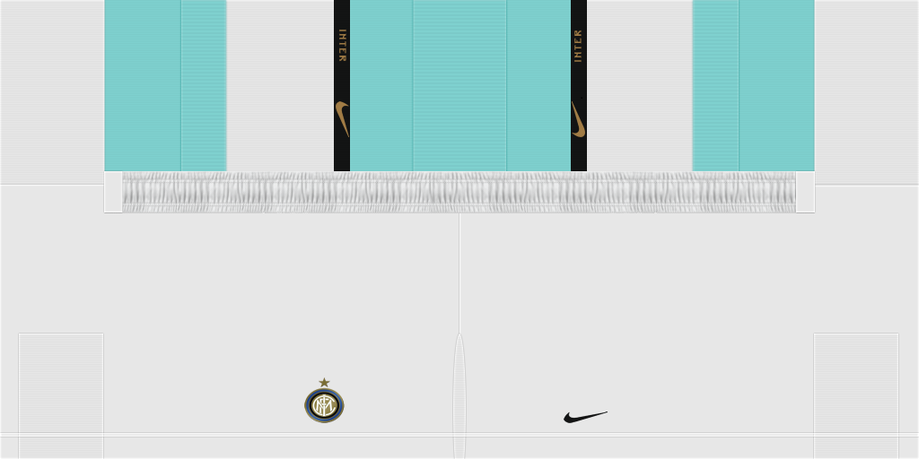 Inter Milan Away Shorts Kits Inter Milan 2019 2020 Updated