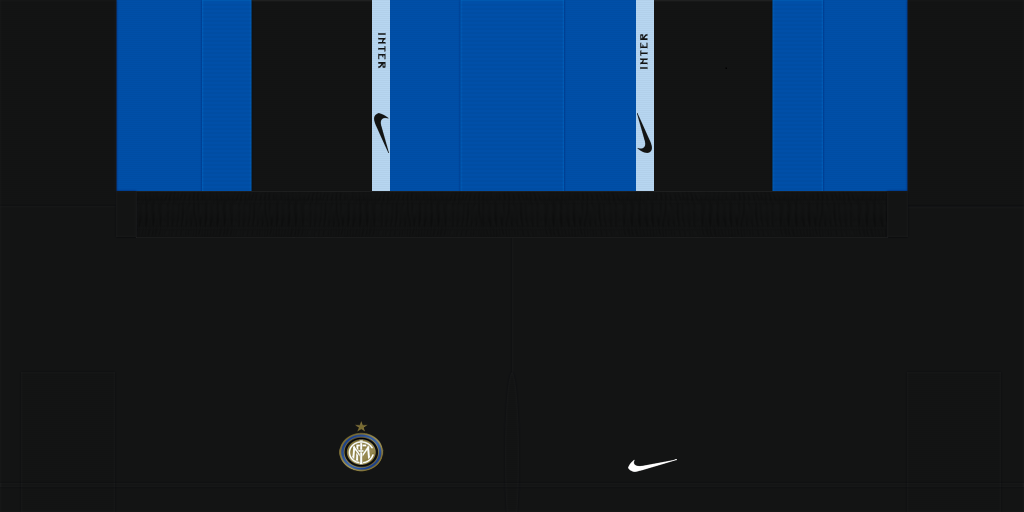 Inter Milan Home Shorts Kits Inter Milan 2019 2020 Updated
