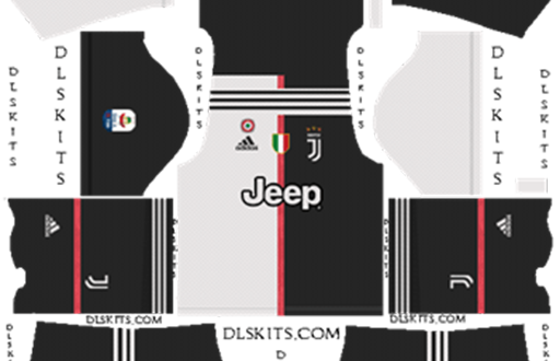 best sneakers a8b64 cd4aa DLS | Juventus Kits & Logos | 2019/2020 – DLS Kits – FIFAMoro