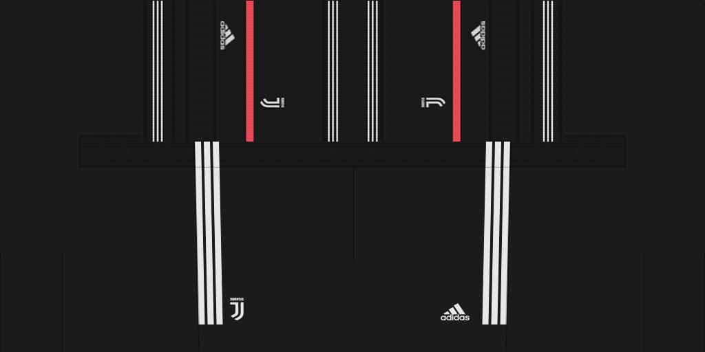 Juventus Home Shorts 1 Kits Juventus 2019 2020 New Kit Added