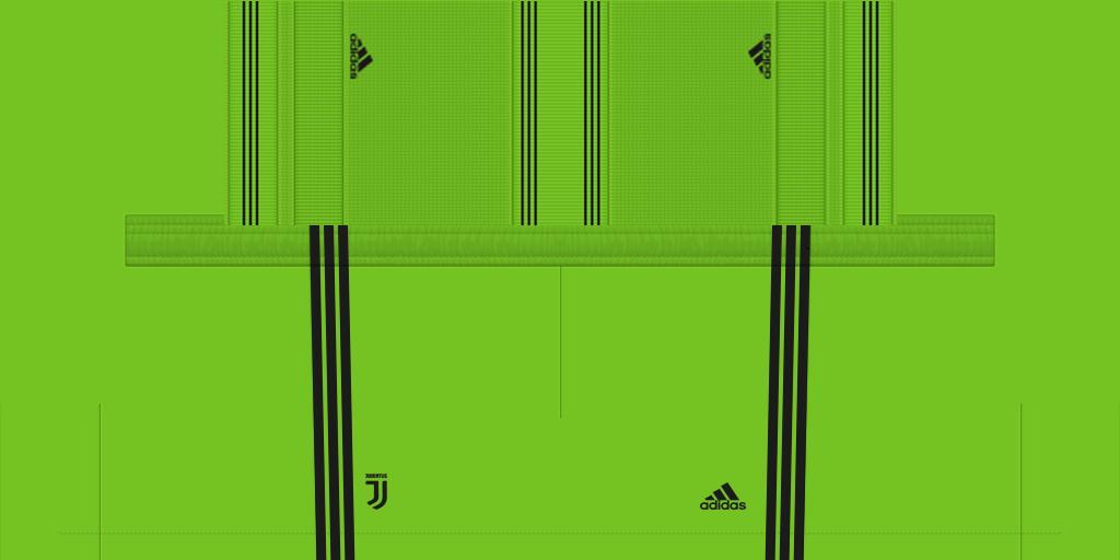 Juventus Third GK Shorts Kits Juventus 2019 2020 New Kit Added