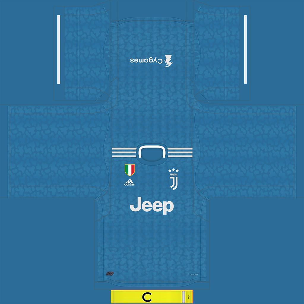 Juventus Third Kit 1 Kits Juventus 2019 2020 New Kit Added