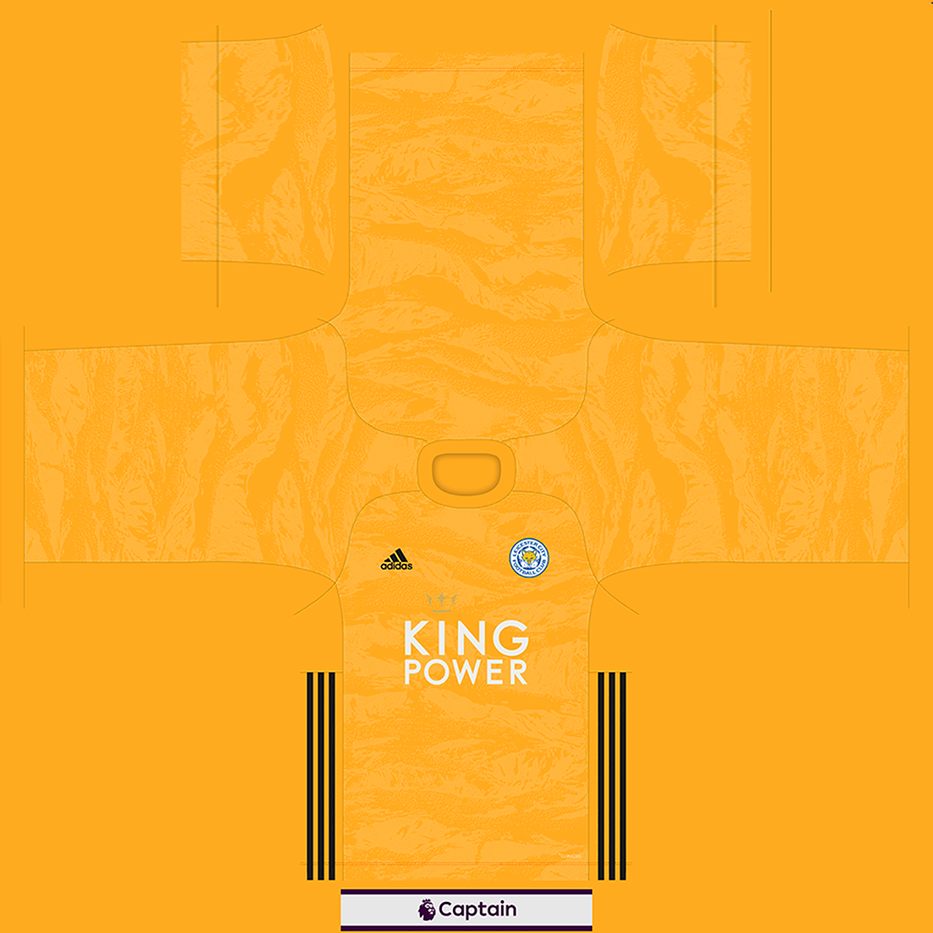Leicester City Shirt GK Kits Leicester City 2019 2020 Updated