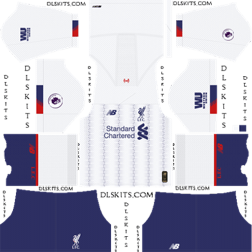Liverpool Away Kit 2019 DLS 19 Kits Dream League Soccer DLS Liverpool Kits 038 Logos 2019 2020